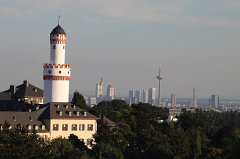 White tower and Frankfurt